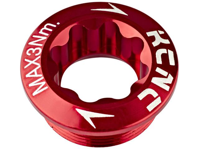 KCNC Vevbult Shimano Hollowtech röd